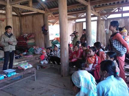 Điện Biên: Hưởng ứng ngày Dân số Việt Nam 26/12 1