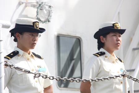 Tàu Cảnh sát biển Nhật Bản cập cảng Đà Nẵng 4