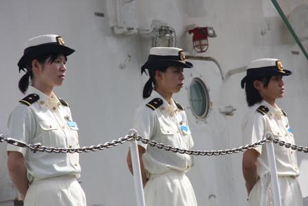 Tàu Cảnh sát biển Nhật Bản cập cảng Đà Nẵng 5