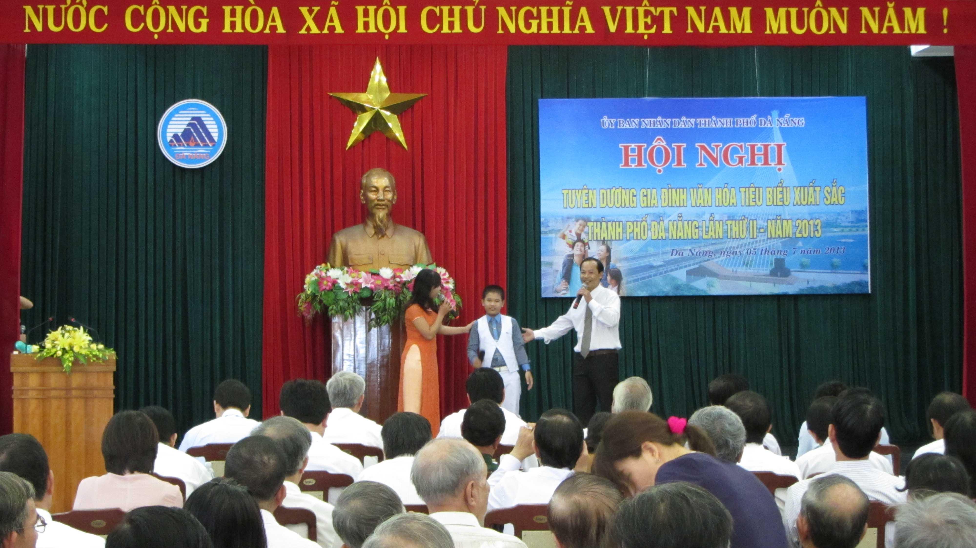 Đà Nẵng tuyên dương 56 gia đình văn hóa tiêu biểu xuất sắc 1