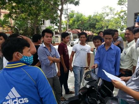 Đơn vị thi công tòa nhà Novotel Đà Nẵng nợ lương công nhân 1