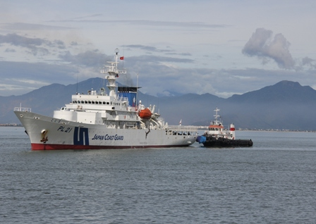 Tàu Cảnh sát biển Nhật Bản cập cảng Đà Nẵng 6