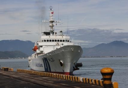 Tàu Cảnh sát biển Nhật Bản cập cảng Đà Nẵng 1