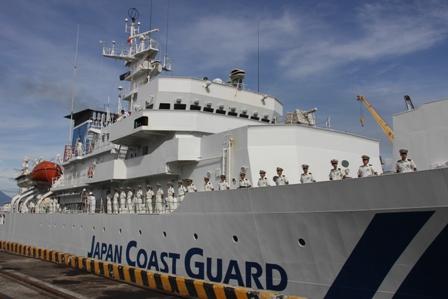 Tàu Cảnh sát biển Nhật Bản cập cảng Đà Nẵng 2