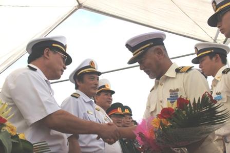 Tàu Cảnh sát biển Nhật Bản cập cảng Đà Nẵng 3