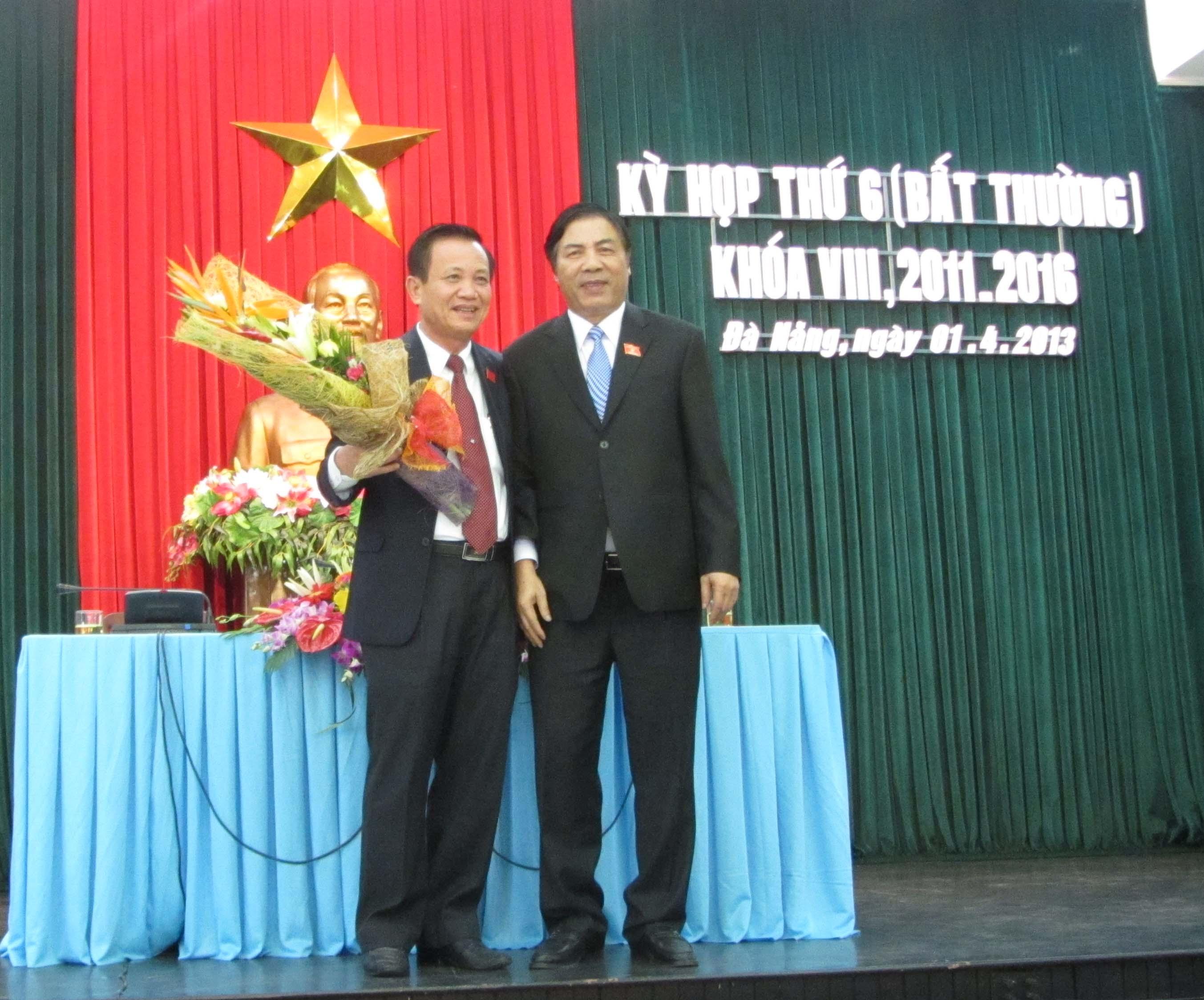 Ông Trần Thọ thay ông Nguyễn Bá Thanh làm Bí thư Thành ủy Đà Nẵng 1