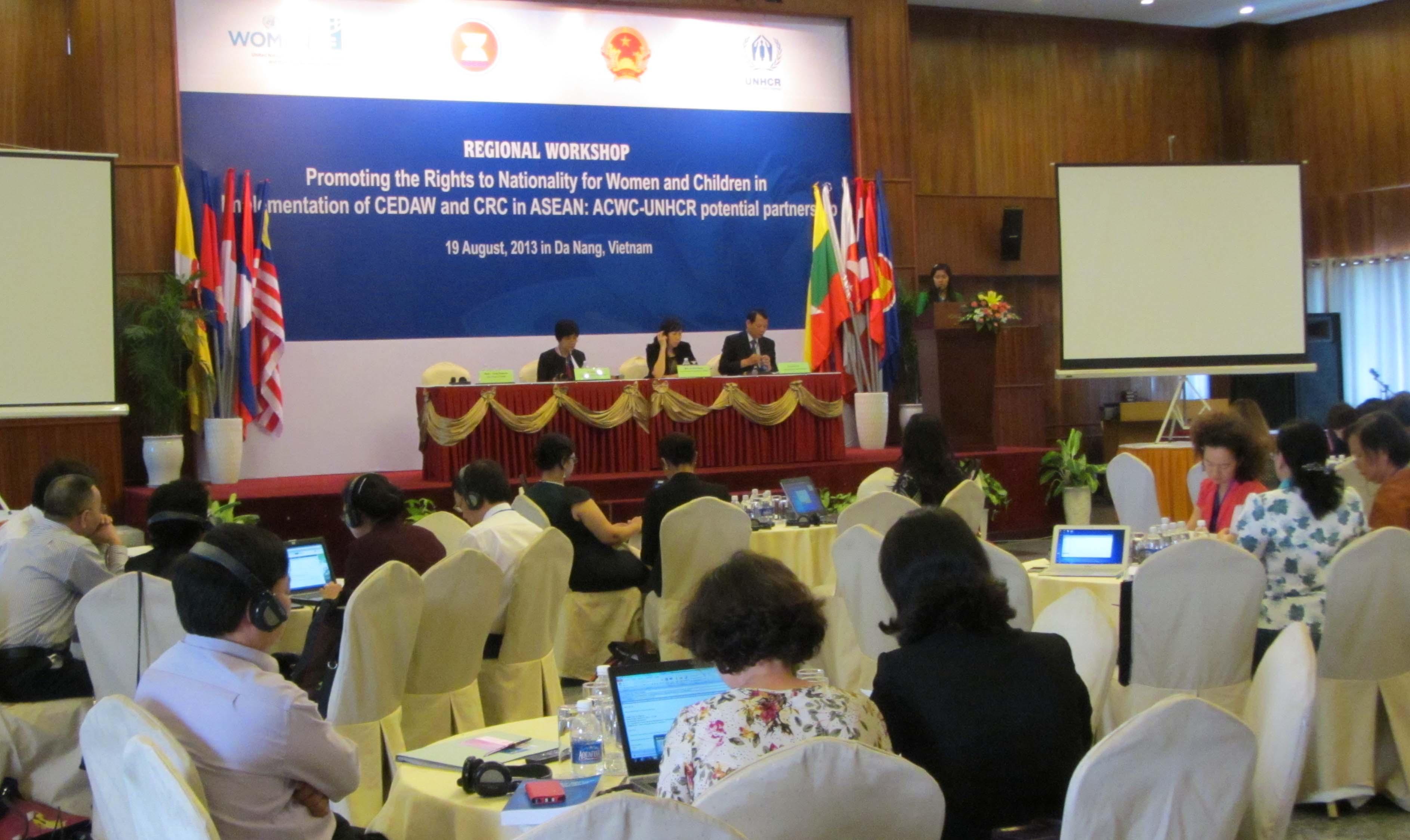 Đảm bảo quyền có quốc tịch của phụ nữ và trẻ em Asean 1