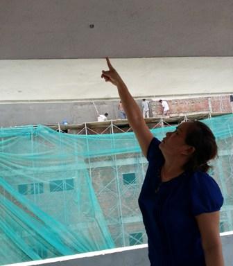Thi công công trình Bệnh viện Gia đình làm nứt nhà dân 6