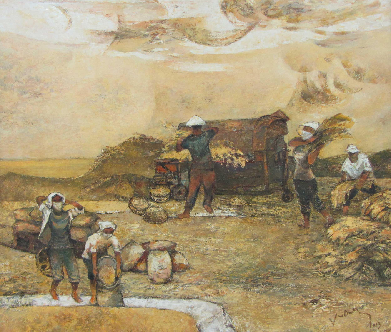 Cận cảnh các tuyệt phẩm mỹ thuật miền Trung & Tây Nguyên 14