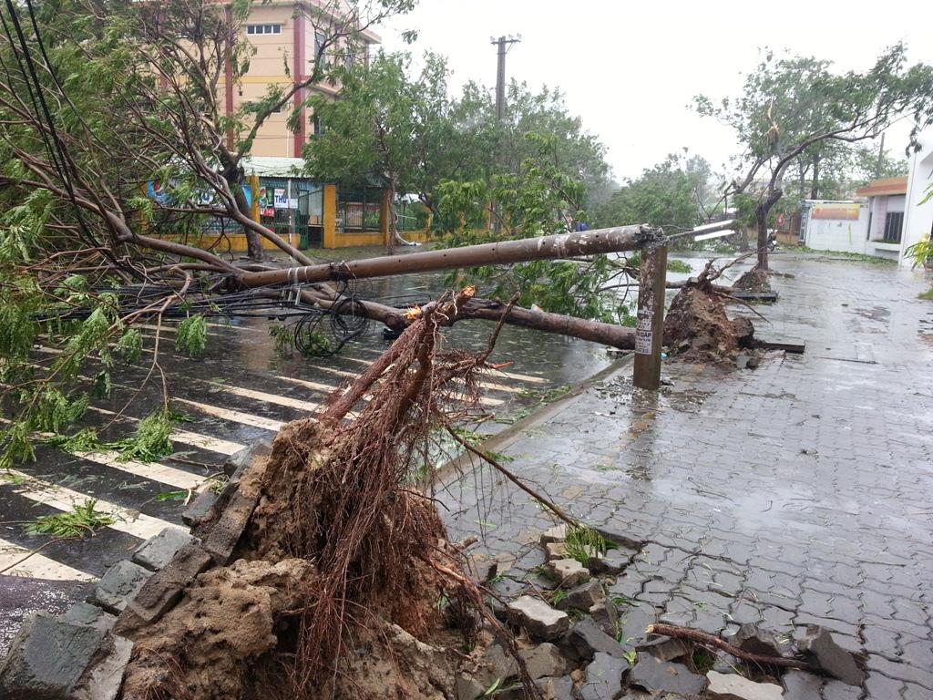 Đà Nẵng tan hoang sau bão số 11 16