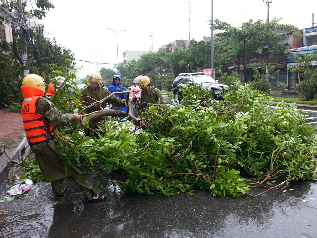 Đà Nẵng tan hoang sau bão số 11 12