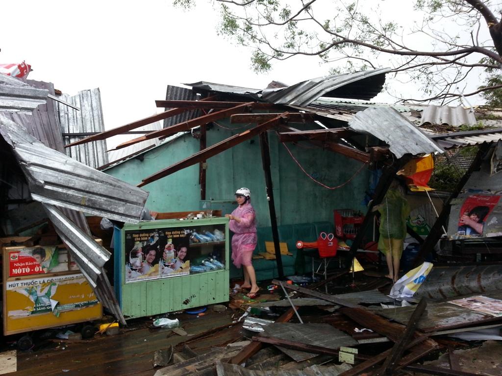 Đà Nẵng tan hoang sau bão số 11 5