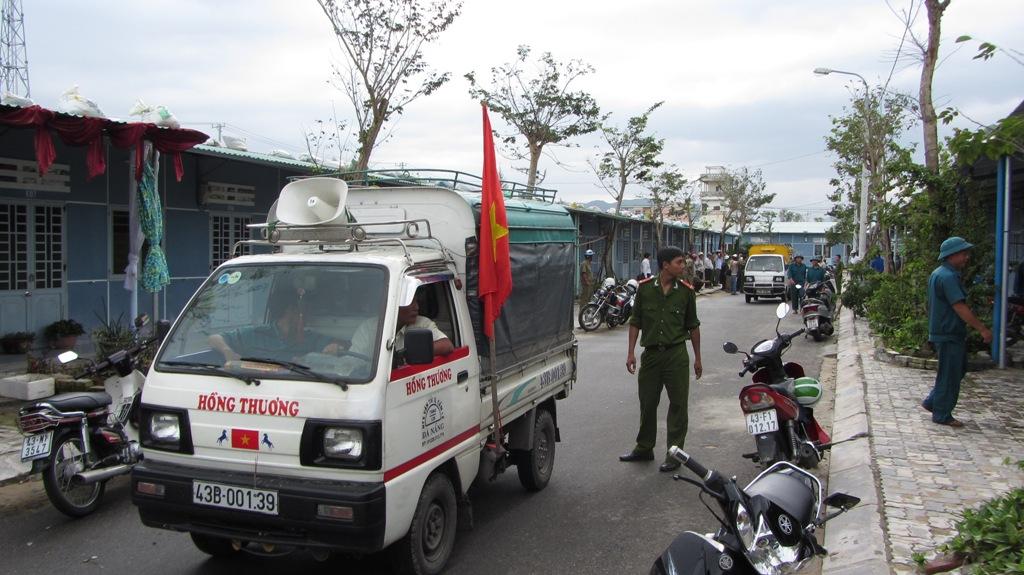 Hơn 65.000 người dân Đà Nẵng đã đi tránh siêu bão Haiyan 1