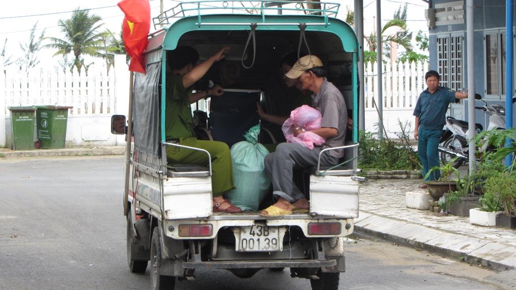 Hơn 65.000 người dân Đà Nẵng đã đi tránh siêu bão Haiyan 3