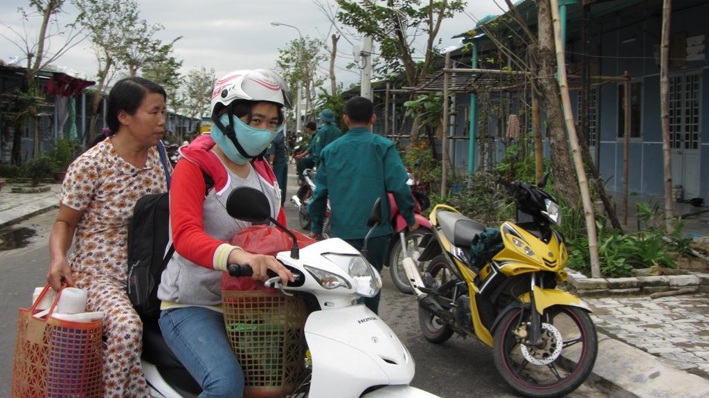 Hơn 65.000 người dân Đà Nẵng đã đi tránh siêu bão Haiyan 4