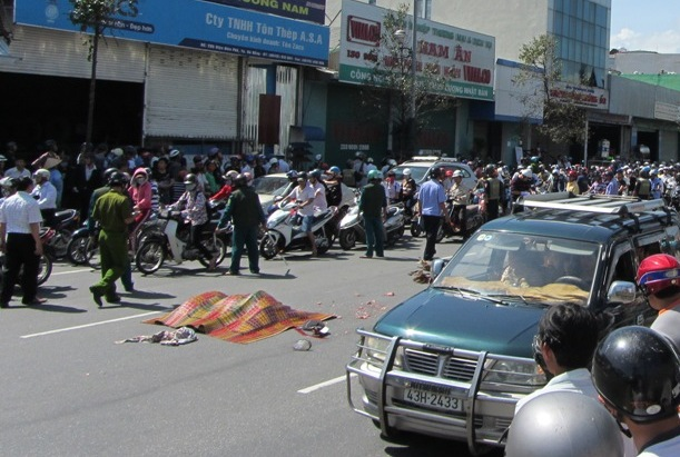 Đà Nẵng: Hai nữ sinh viên chết thảm sau tai nạn kinh hoàng 4