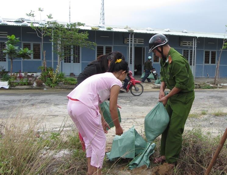 Hơn 65.000 người dân Đà Nẵng đã đi tránh siêu bão Haiyan 5