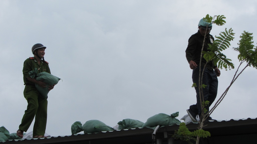 Hơn 65.000 người dân Đà Nẵng đã đi tránh siêu bão Haiyan 6