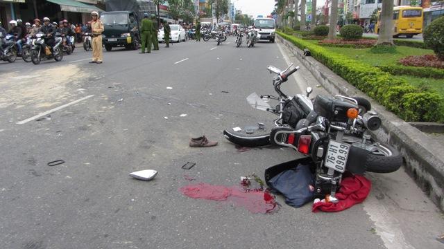 Đà Nẵng: Xe tải quá hạn kiểm định gây tai nạn kinh hoàng 1