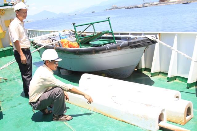 Cận cảnh tàu Kiểm ngư Việt Nam bị tàu Trung Quốc đâm gây hư hỏng 15