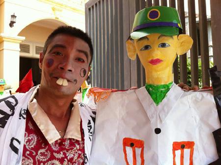 Ảnh siêu xì tin của các danh hài Việt 1