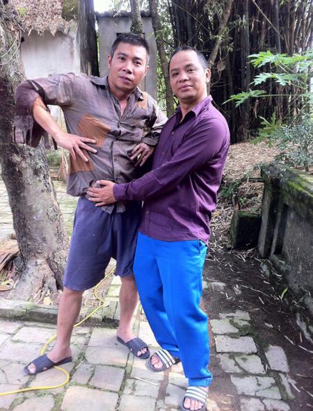 Ảnh siêu xì tin của các danh hài Việt 2