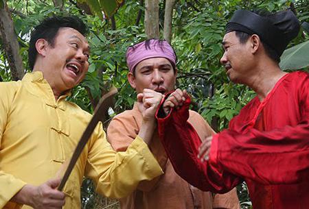 Ảnh siêu xì tin của các danh hài Việt 8