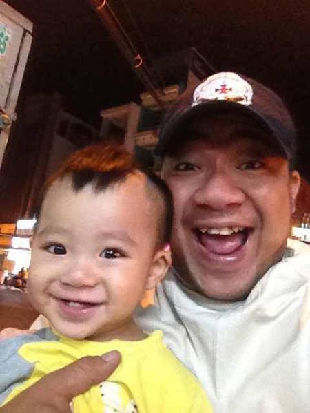 Con trai diễn viên Hiếu Hiền giống bố như đúc 2