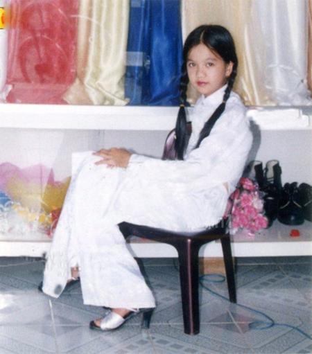 Ảnh thời thơ ấu cực dễ thương của hàng loạt sao Việt 5