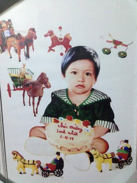 Ảnh thời thơ ấu cực dễ thương của hàng loạt sao Việt 1