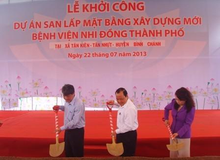 Đầu tư xây dựng 4 bệnh viện tuyến cuối tại Hà Nội và TP HCM 1