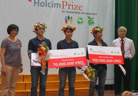 Nhiều ý tưởng sáng tạo tại Giải Holcim Prize 2013 1