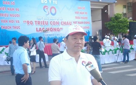 TP HCM: Tưng bừng chào đón dân số vàng 2