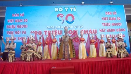 TP HCM: Tưng bừng chào đón dân số vàng 3