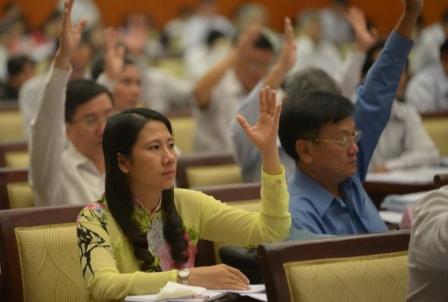 HĐND TP thông qua 13 dự thảo nghị quyết 1