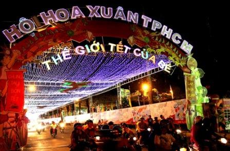 TP HCM: Tổ chức Hội hoa Xuân Giáp Ngọ trong 12 ngày 1