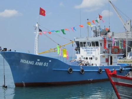 Ngư dân sẽ được hỗ trợ 70% vốn để đóng tàu vỏ thép 1