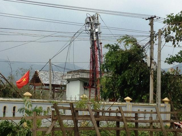 Cao Quảng tan hoang sau bão 9