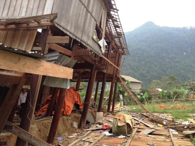 Cao Quảng tan hoang sau bão 4