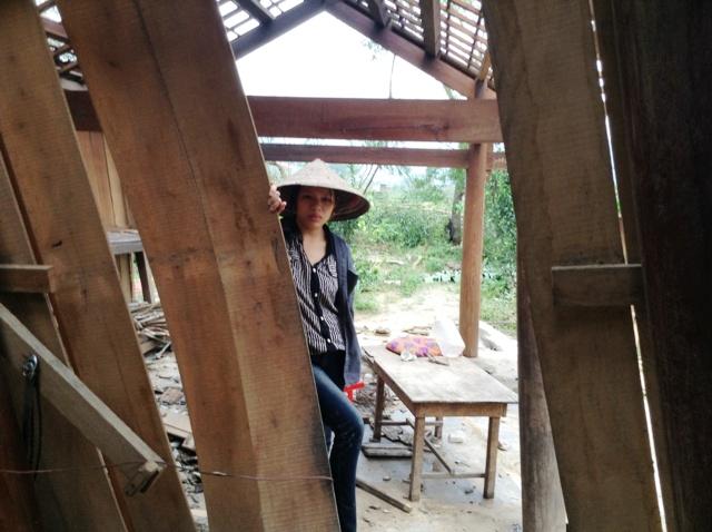 Cao Quảng tan hoang sau bão 7