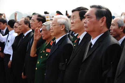 Toàn cảnh đưa tiễn Đại tướng tại sân bay Nội Bài 16