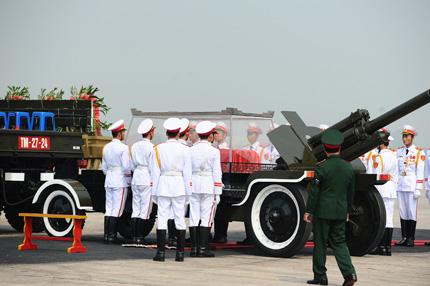 Toàn cảnh đưa tiễn Đại tướng tại sân bay Nội Bài 4