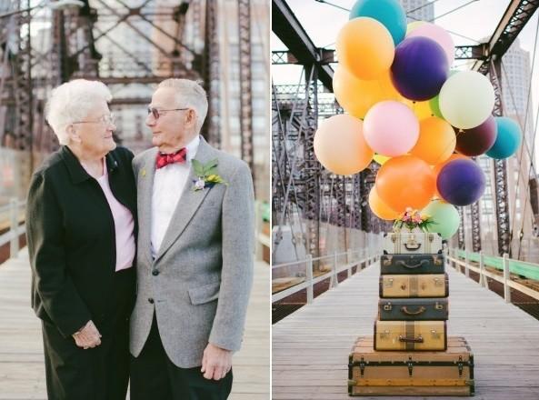 Bộ ảnh kỷ niệm 61 năm tình yêu của cặp vợ chồng ngoại bát tuần 2