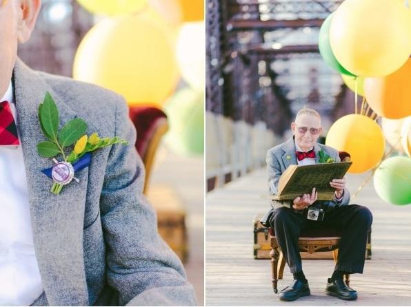 Bộ ảnh kỷ niệm 61 năm tình yêu của cặp vợ chồng ngoại bát tuần 8