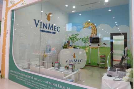 Khai trương phòng khám Quốc tế Vinmec tại Times City 1