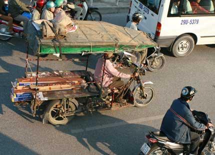 """Cấm xe công nông, xe tự chế: Sau 5 năm, mọi thứ lại về """"mo"""" 1"""