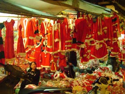 Thị trường Noel trầm lắng 2