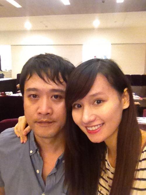 Lã Thanh Huyền khoe bụng bầu 6 tháng 1