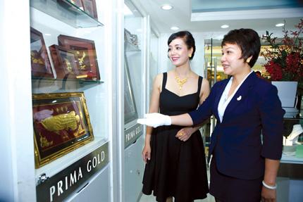 Cửa hàng Flagship thứ 2 của Prima Gold tại Hà Nội 2