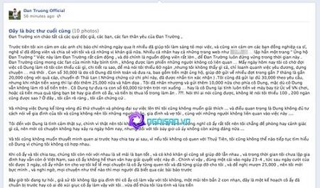 """Fan cuồng công bố tin nhắn Thủy Tiên dùng tiền """"cứu"""" chồng 6"""